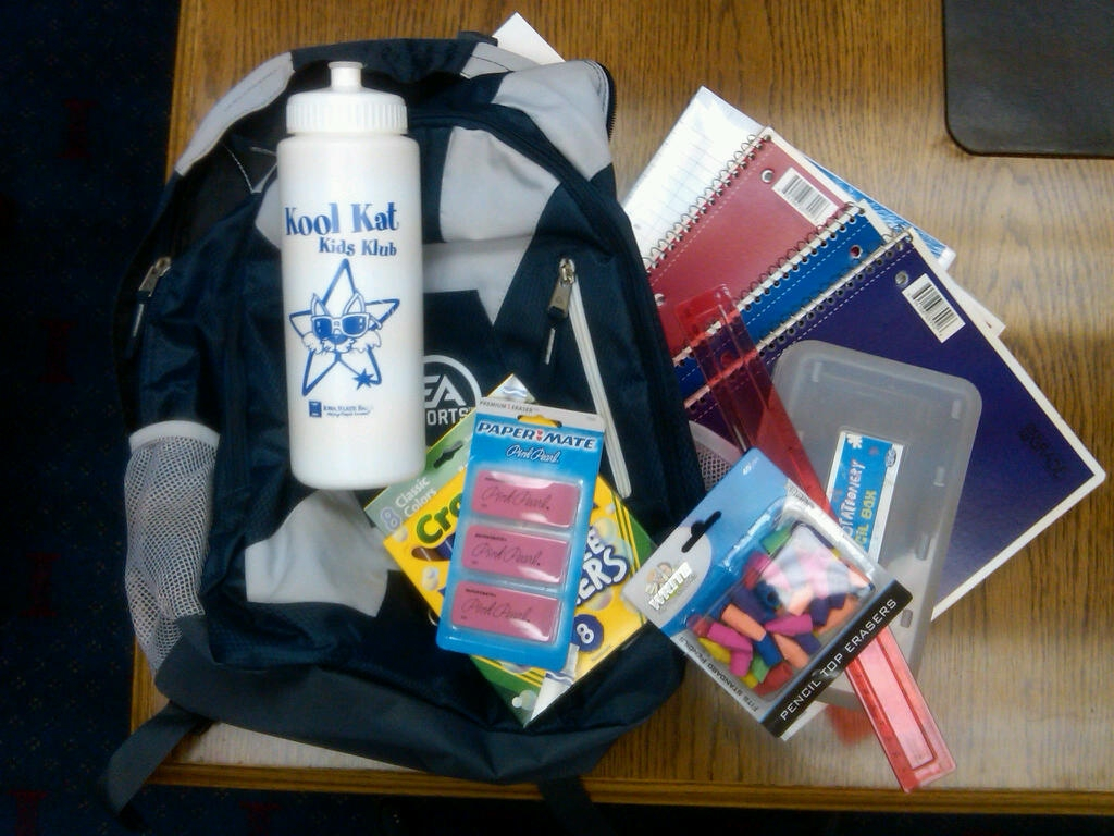 Help Kids with School Supplies: LuVerne Elementary & R/A Schools